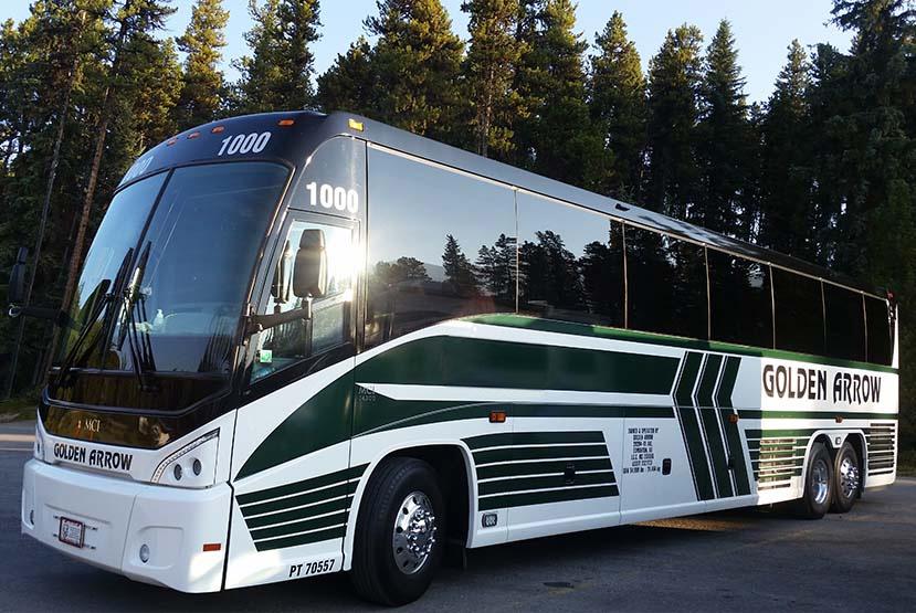 Golden Arrow Bus Charters Colorado Charter Bus Choose